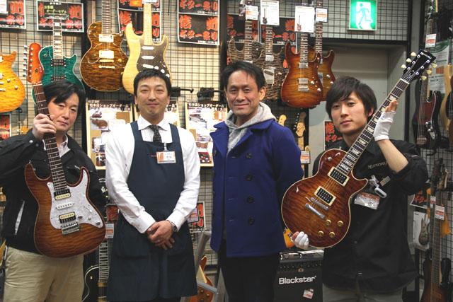 ギター担当太田オーダーHISTORYのオーナー様
