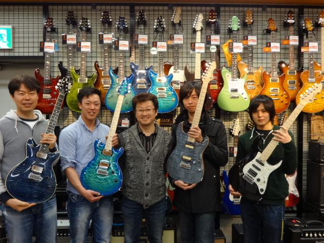 T's Guitarsオーナーさんが大集合!