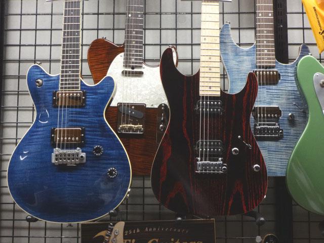 松本店T's Guitarsコーナー