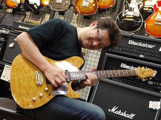 T's Guitars高橋さん