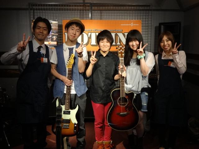島村楽器松本パルコ店HOTLINE2014/6/1④集合写真