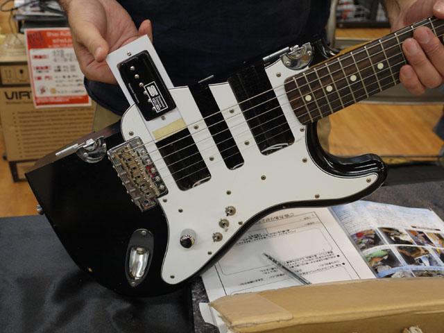 ピックアップギター!
