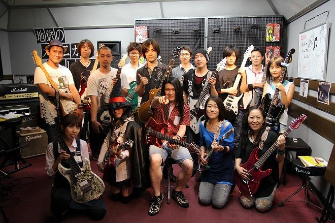 参加者と集合写真