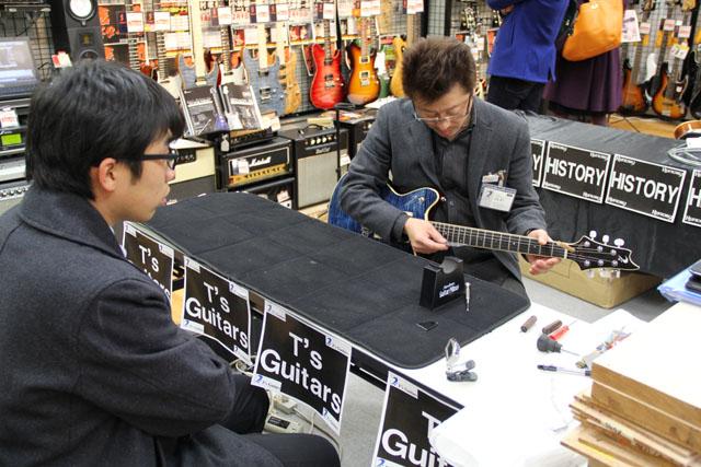 T's Guitars高橋氏