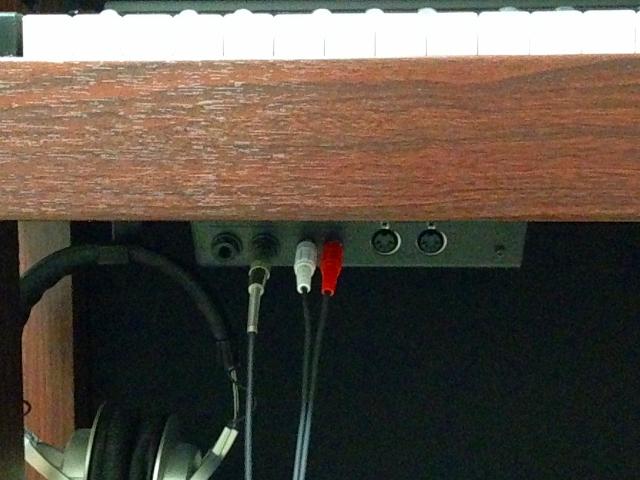 HP507 端子接続部