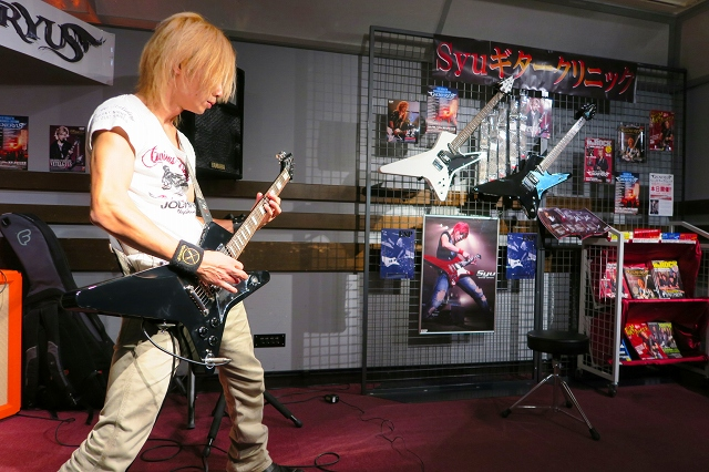 島村楽器松本パルコ店Syuギタークリニック2014年10月23日①