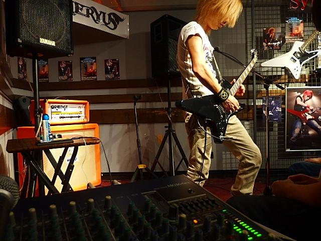 島村楽器松本パルコ店 Syuギタークリニック本番 Syuさん演奏