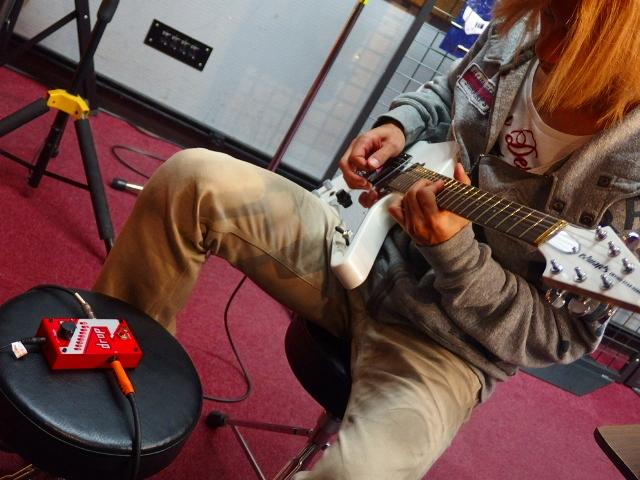 島村楽器松本パルコ店 Syuギタークリニック Syuさんエフェクター試奏