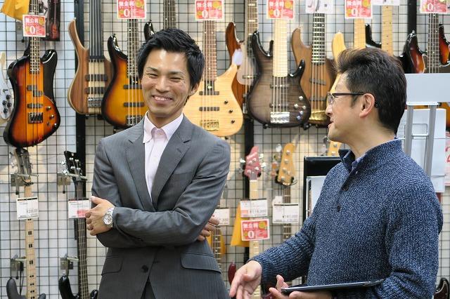 T's Guitars高橋さん&オカダインターナショナル 常盤さん