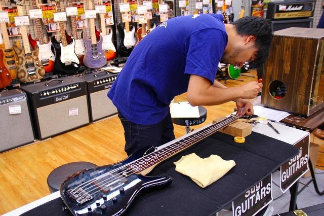Sugi Guitars調整会