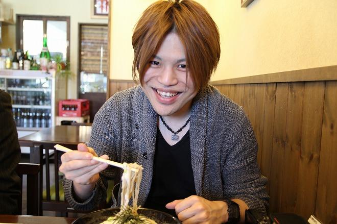 信州蕎麦を堪能