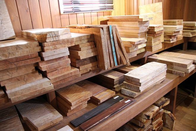銘木の数々