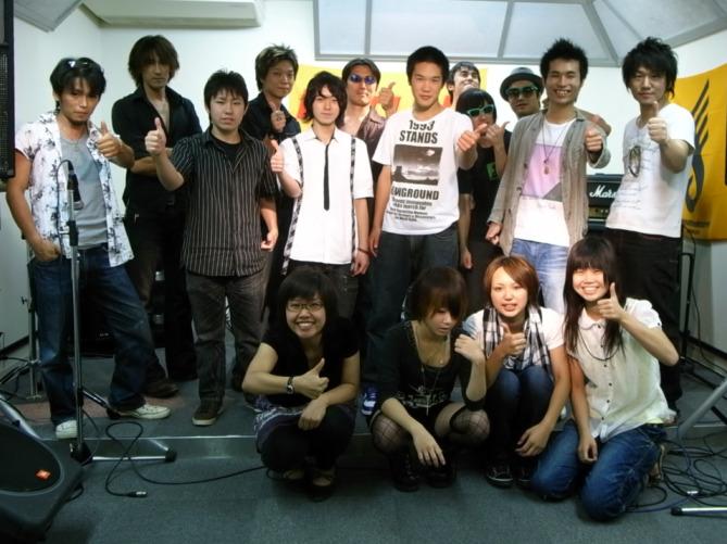HOTLINE2009 皆で記念撮影