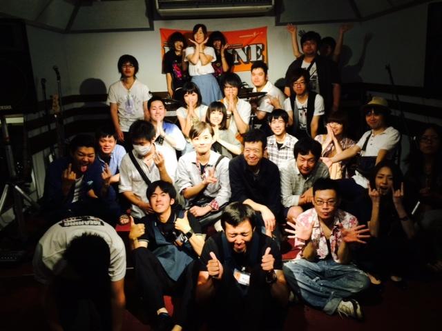 HOTLINE2014 7月27日出演者全員集合!