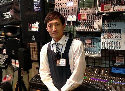 島村楽器名古屋パルコ店デジタルフェスティバル担当者写真