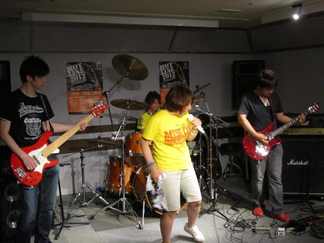 HOTLINE2012鈴鹿店ライブオーディション