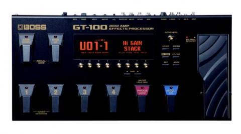 島村楽器マルチエフェクターGT100