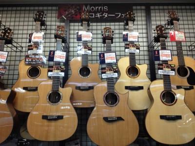 島村楽器しまむらがっきイオンモール鈴鹿アコースティックギターモーリスソロギター
