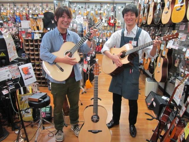 島村楽器イオンモール鈴鹿店アコースティックマンへの道ルシアーズデザインプロジェクト