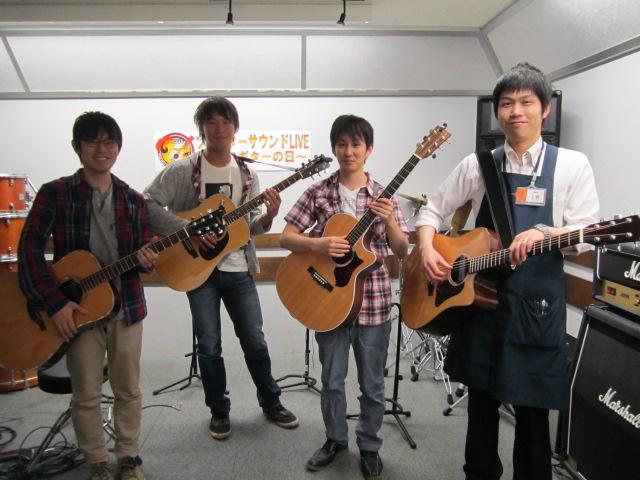 島村楽器イオンモール鈴鹿店ソロギターサウンドライブ