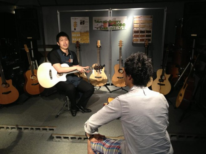 Yokoyama-Guitars大試奏会イオンモール鈴鹿店