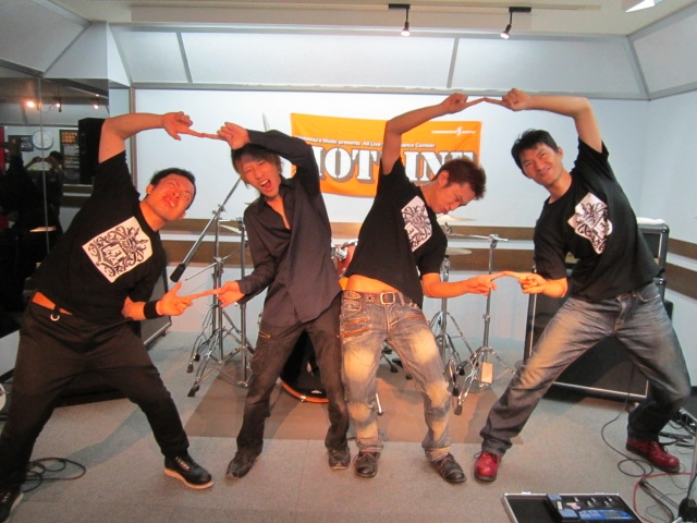 hotline 島村楽器鈴鹿店 jetblack live