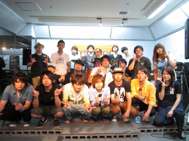 8月4日HOTLINEショップオーディション集合写真