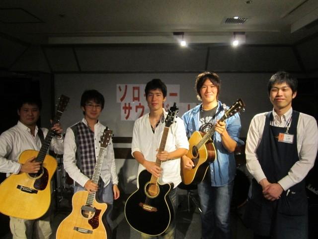 島村楽器鈴鹿店アコースティックマンへの道ソロギターサウンドLIVE
