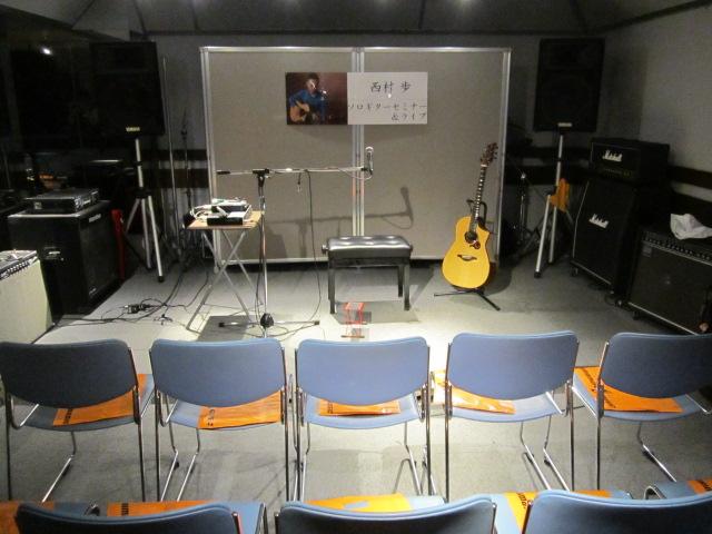 島村楽器イオンモール鈴鹿アコースティックマンへの道西村歩ソロギターセミナー