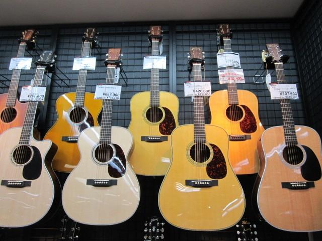島村楽器イオンモール鈴鹿店アコースティックギター