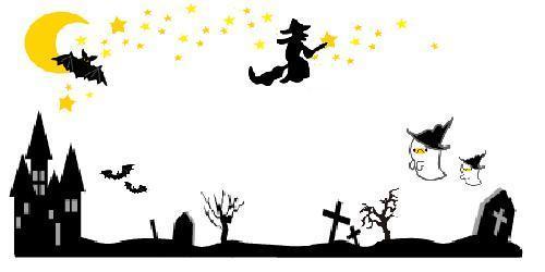 ハロウィン魔女やオバケ