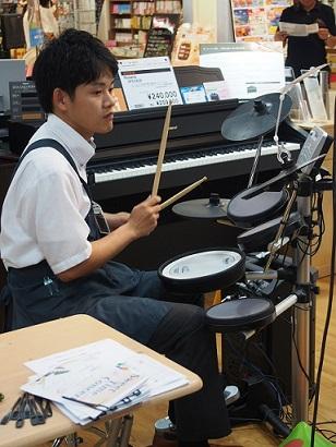 ドラム 松浦店長