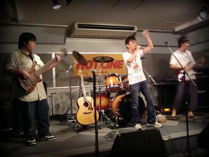 奈良店 HOTLINE2010 7月 melodeon バンド