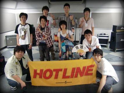 奈良店 7月 HOTLINE 出演者 集合写真