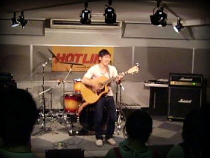 奈良店 HOTLINE2010 7月 達朗 アコギ