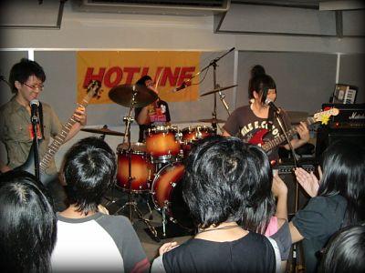 奈良店 HOTLINE2010 8月 ワレモノ注意 バンド