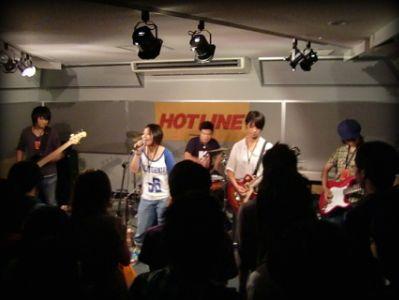 奈良店 HOTLINE2010 8月 GRATED RADISH バンド