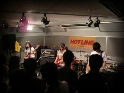 奈良店 HOTLINE2010 8月 Hyphen Plus バンド 打ち込み