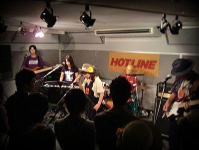 奈良店 HOTLINE2010 8月 Forget Mie not バンド