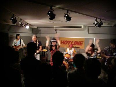 奈良店 HOTLINE2010 8月 Super Works バンド