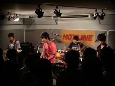 奈良店 HOTLINE2010 8月 らんず。 バンド