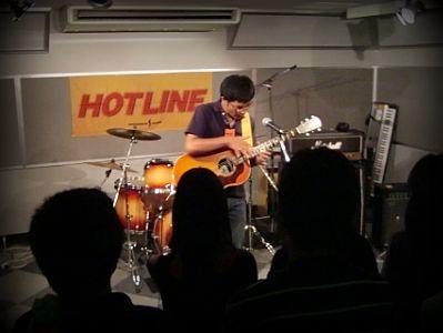 奈良店 HOTLINE2010 8月 生駒 直弥 アコースティックギター ソロギター