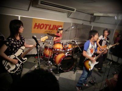 奈良店 HOTLINE2010 8月 Rhythands バンド