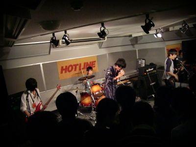 奈良店 HOTLINE2010 8月 目に喰らう人 バンド