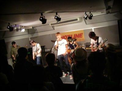 奈良店 HOTLINE2010 8月 SHELLY PLUM バンド