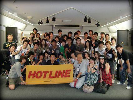 奈良店 8月 HOTLINE 出演者 集合写真