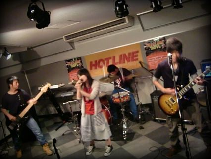 HOTLINE2011 バンド ライブオーディション OVER!!