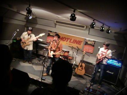 HOTLINE2011 バンド ライブオーディション melodeon
