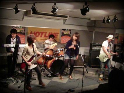 HOTLINE2011 バンド ライブオーディション Spring ping-pong