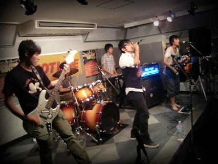 島村楽器 奈良店 HOTLINE2011 ライブ バンド vividscar
